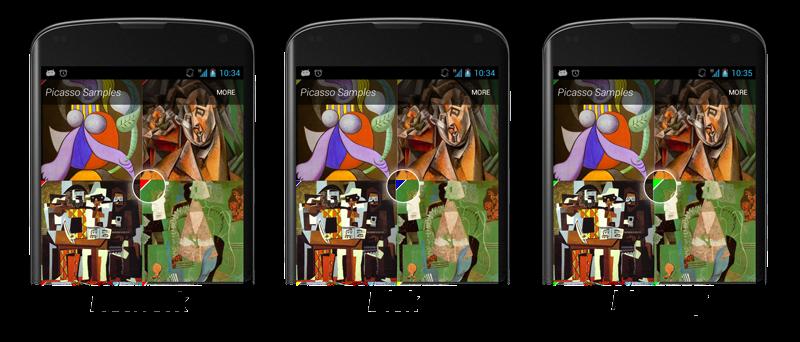 debug - Thư viện Picasso - Load ảnh trong Android từ URL